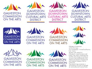 Galveston Commission on the Arts Logo Contest Submission